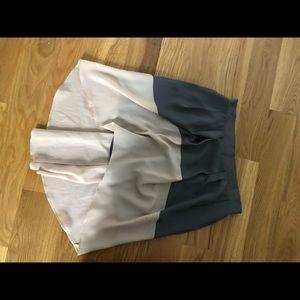 bcbg hi-low midi skirt medium size